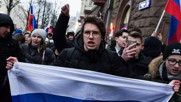 Послание Путина и акции протеста в России. Прямой эфир RTVI