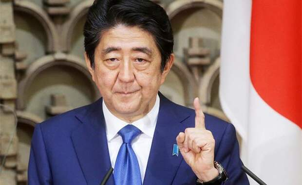 На фото: премьер-министр Японии Синдзо Абэ