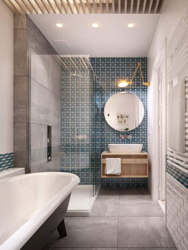 Ванная 6 кв. м: как оформить функциональный интерьер с туалетом и стиральной машиной (79 фото)
