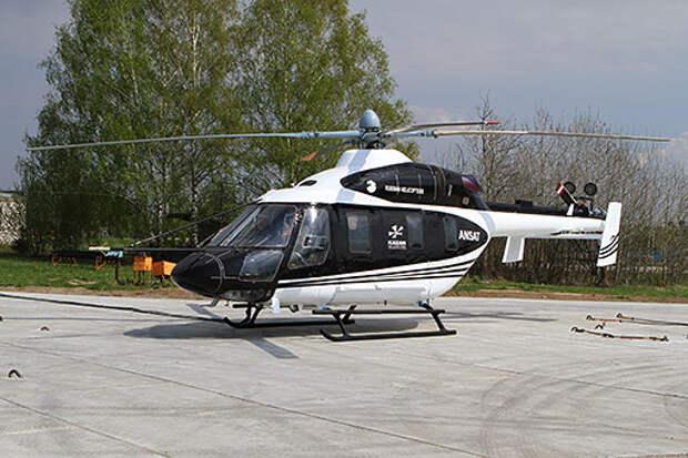 Одна из главных задач - создание двигателя для легких вертолетов, в том числе, Ансата