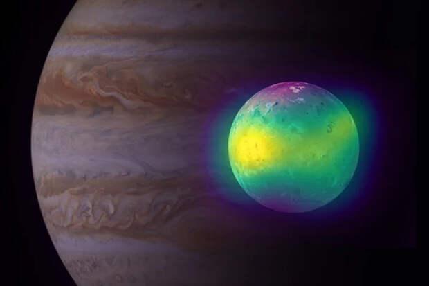 Активные вулканы Ио создают на спутнике серную атмосферу Солнечная система, Астрономия, Наука, Видео