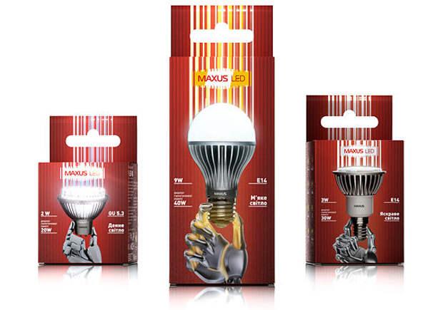 Украинские лампочки рекламируют руки роботов