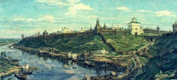 Границы княжества Рязанского и воображаемое путешествие по Оке