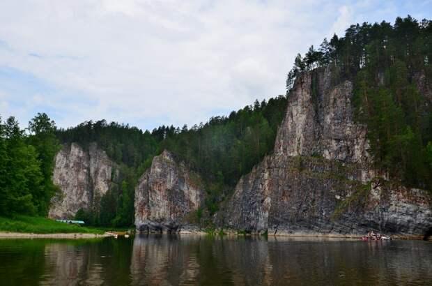 Красоты России. Река  Чусовая, ч.1