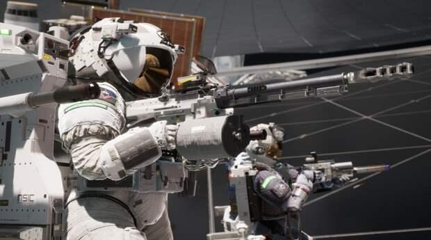 Появился новый трейлер командного шутера Boundary с перестрелками в космосе