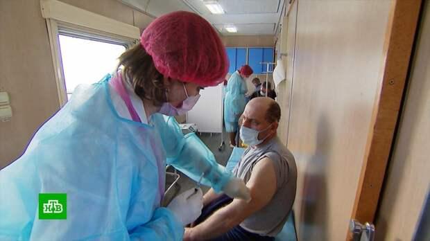 В Крыму и на Кубани прививочная кампания набирает обороты