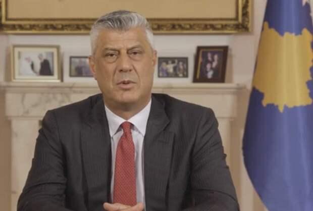 Лидер косовских сепаратистов раздает награды руководству США