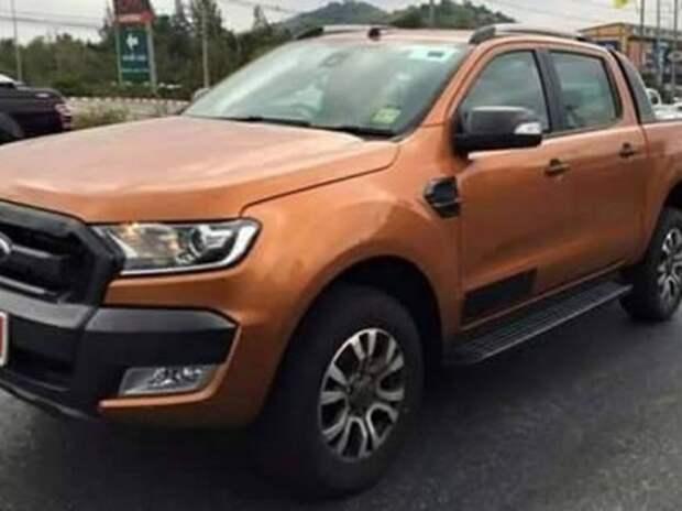 Обновленный пикап Ford Ranger замечен в версии Wildtrack