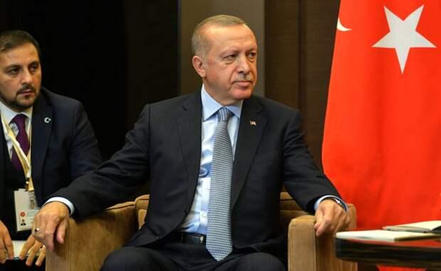 Эрдоган вновь отказался признавать Крым российской территорией
