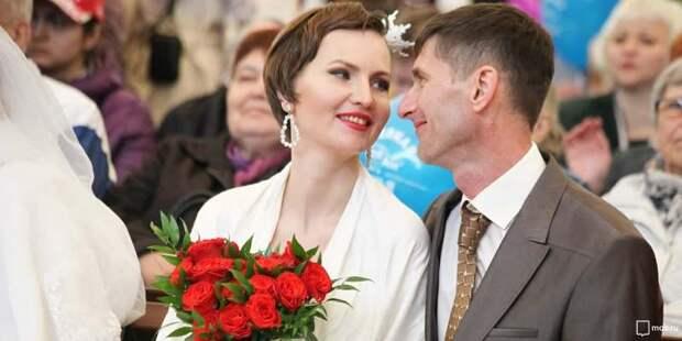Выездную регистрацию брака с начала года в Москве выбрали более трех тысяч пар