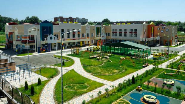 Уникальный детский сад смладенческой группой открыли в«Вересаево» вРостове