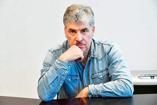 Судилище над Грудининым, это предвестник социального взрыва в России, заявил Бондаренко