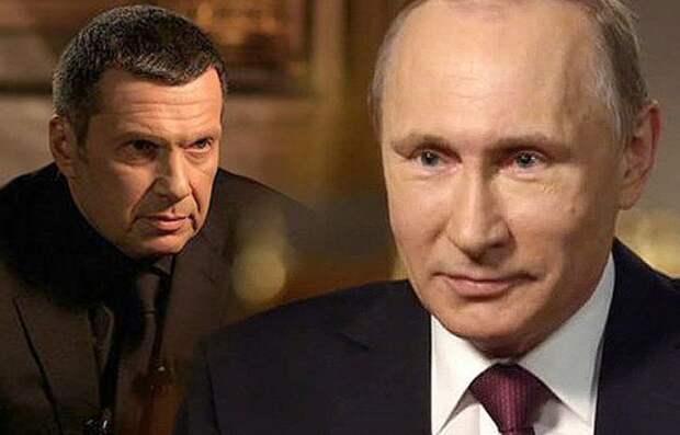 Соловьев: за Путина, за Родину – всегда! Лишь бы без прогрессивного налога!