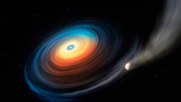 Загадочный объект обнаружен вблизи умирающей звезды