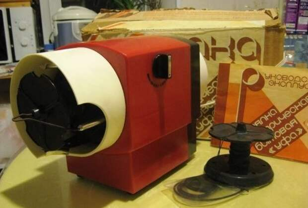 9. Прялка электрическая СССР, антиквариат, вещи из СССР, фото