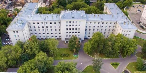 Собянин оценил итоги капремонта Спинального центра в больнице Вохробова
