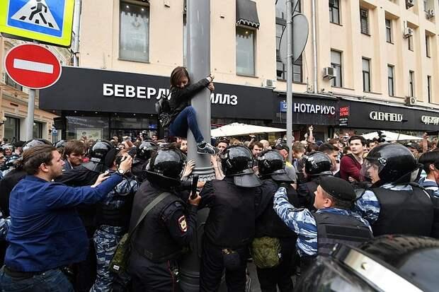 Полиция и Генпрокуратура предупредили об ответственности за участие в несанкционированных акциях