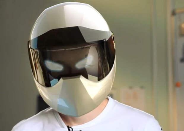 Российские разработчики создали мотоциклетный шлем со встроенной навигацией
