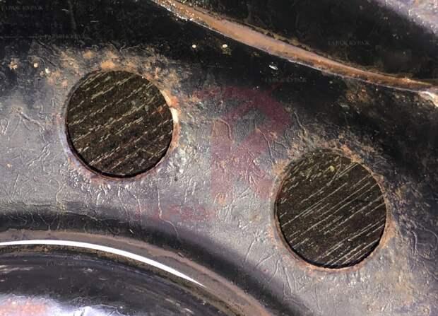 Сильно пожалел, что обработал диски преобразователем ржавчины