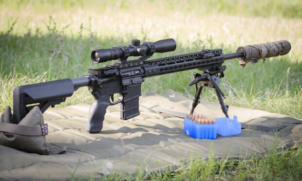 """На Украине создали новое «чудо-оружие» – пехотную винтовку """"Ночной хищник"""""""
