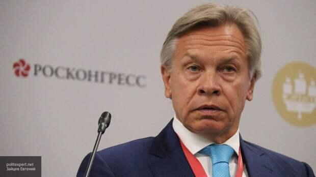 Пушков заявил о невозможности союза РФ и Турции после слов Эрдогана о Крыме