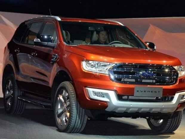 Рамный внедорожник Ford Everest дебютировал в Китае