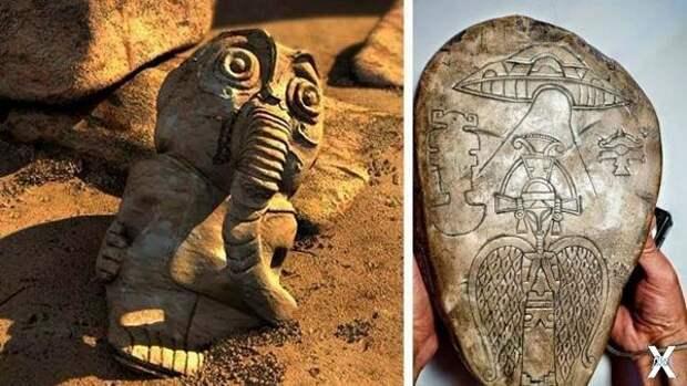Неудобные артефакты запретной археологии