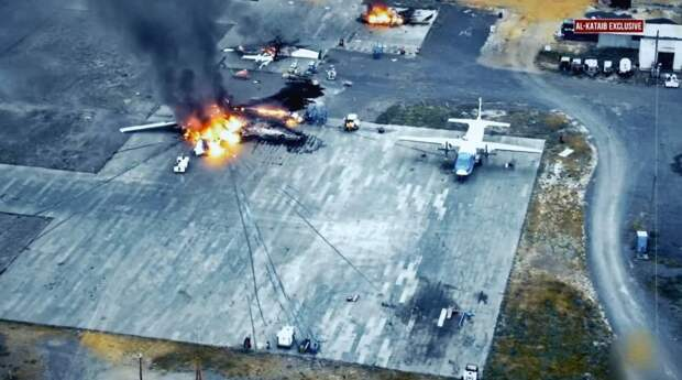 Военная база США в Кении полностью уничтожена массированным ракетным ударом