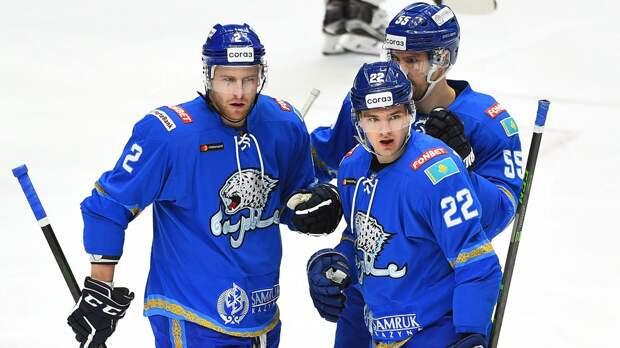 «Барыс» выиграл у «Сибири», отыгравшись с 0:2, и вышел в плей-офф КХЛ