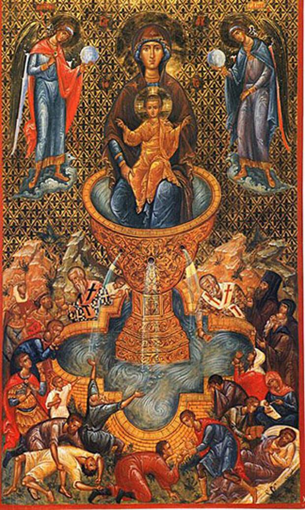 24 апреля Явление иконы Божией Матери «Живоносный Источник».