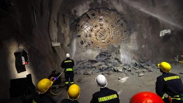 Межконтинентальные подземные тоннели