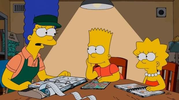 Мардж Симпсон: отчаянная домохозяйка