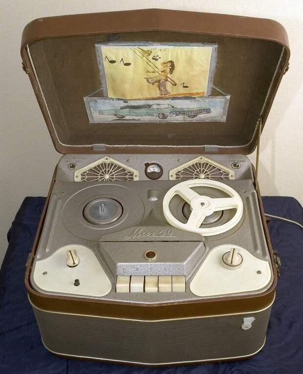 Советский магнитофон 1959 года. история, события, фото