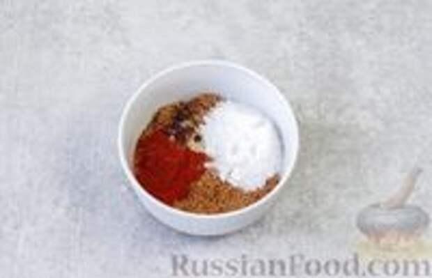 Фото приготовления рецепта: Острая морковь в горчичном масле - шаг №5