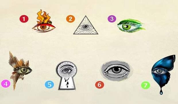 Тест: выберите глаз и узнайте, какой внутренний потенциал в вас скрывается
