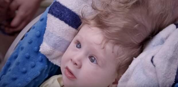 Этот новорожденный был на волосок от гибели... Но взгляните на него теперь!