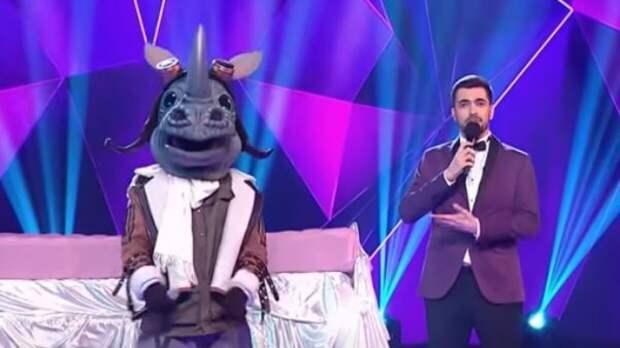 """Стало известно, кто скрывался в костюме Носорога в""""Маске"""" на НТВ"""