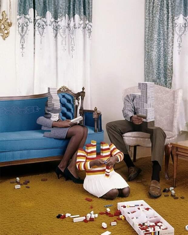 Измененные ретро-фотографии на современный лад: смелые работы или граница абсурда