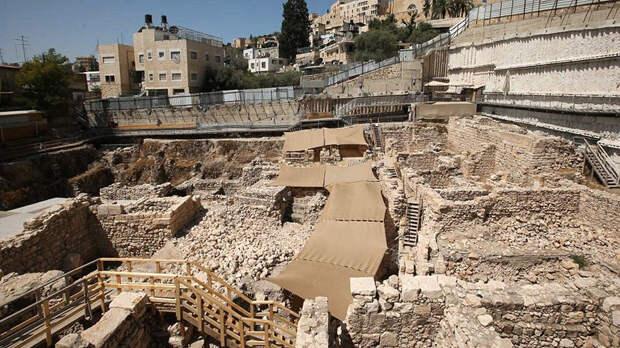 Раскопки парковки Гивати в Иерусалиме. Фото: Eliyahu Yanai, City of David