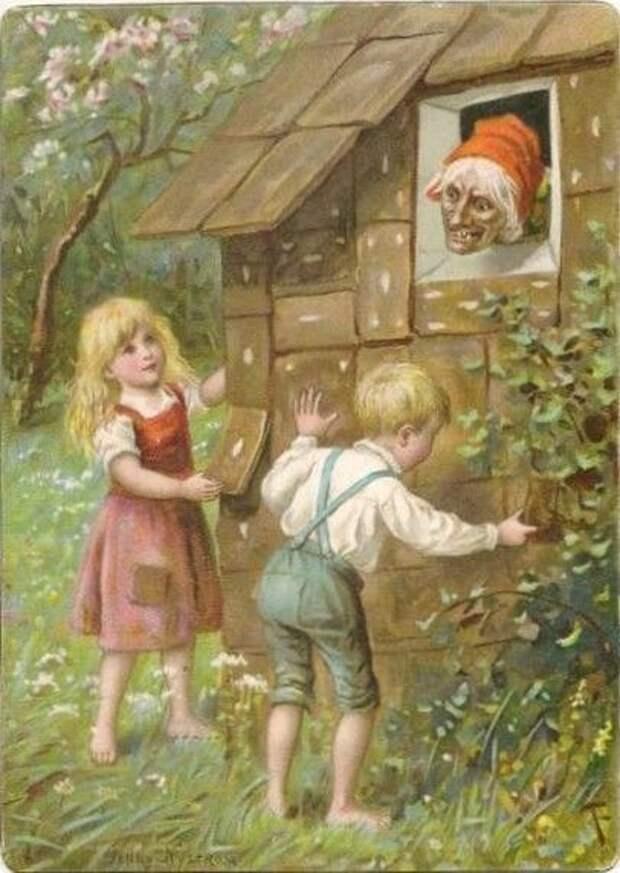 Шведский колорит в иллюстрациях Йенни Нюстрём.