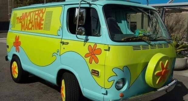 Эксперты вспомнили интересные автомобили, созданные по мотивам мультфильмов