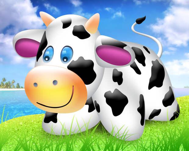 Корова с немножко восточным именем Ахтыбля