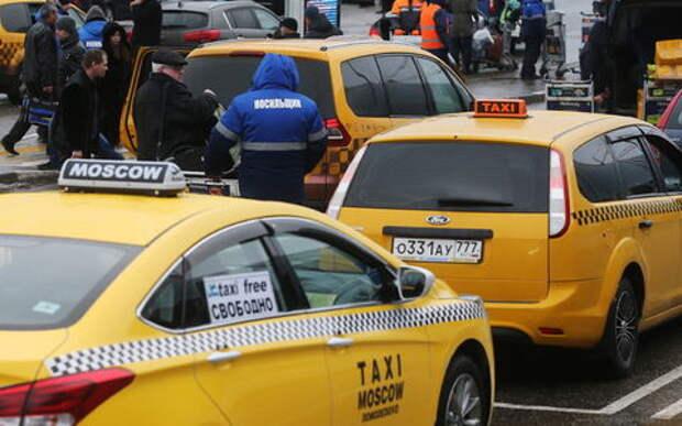 Московское такси полностью пожелтеет в 2018 году