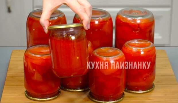 Перец в томатном соке на зиму: в нашей семье готовят его уже более 40 лет