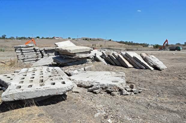 Аксёнов остался недоволен строительством объектов в Керчи