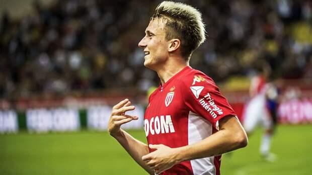 Головин забил красивый гол за «Монако» в матче с «Серкль Брюгге»: видео