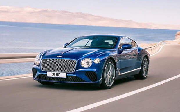 Новый Bentley Continental GT: двухдверная Panamera по-британски