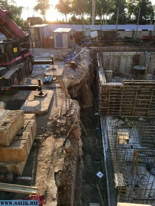 В Самаре при строительстве нашли закопанные здания.