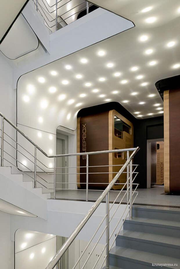 Sleepbox отель в Москве