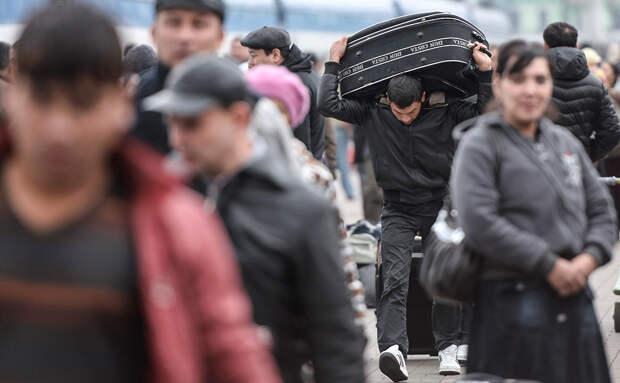 ФСБ впервые за 20 лет раскрыла число приехавших работать  мигрантов